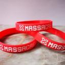 Náramek X-Mass 2019 červený 18cm