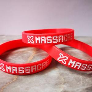 Náramek X-Mass 2019 černý 18cm