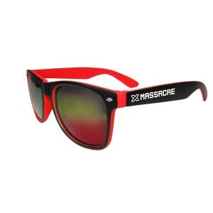 Sluneční brýle X-Massacre červené