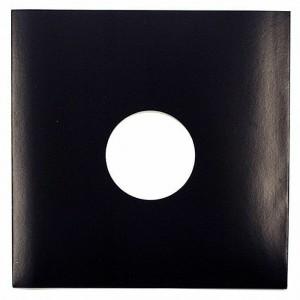 """Paper sleeve for 12"""" vinyl - white"""