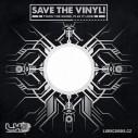 "50 ks papírový obal Save The Vinyl na 12"""