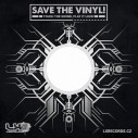 "100 ks papírový obal Save The Vinyl na 12"""