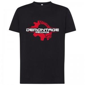 Tričko Demontage Pánské L Černé
